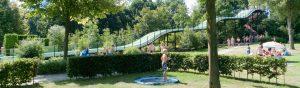 tabblad schoolkamp zwembad